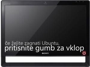 Kliknite na sliko za zagon Ubuntu 10.04 spletnega simulatorja